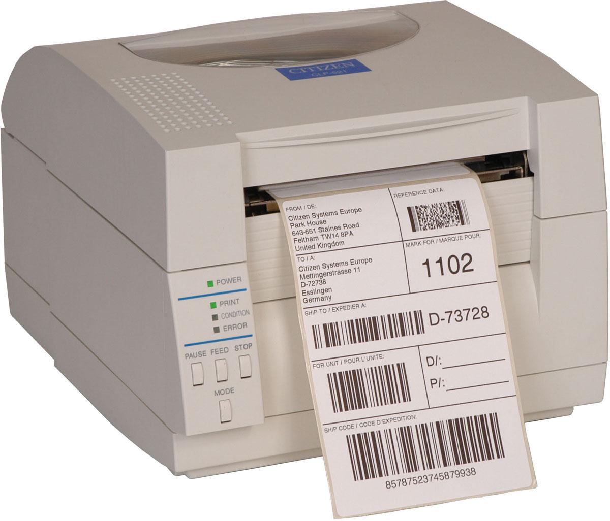 Принтер Citizen CL S521 CLP521 Белый