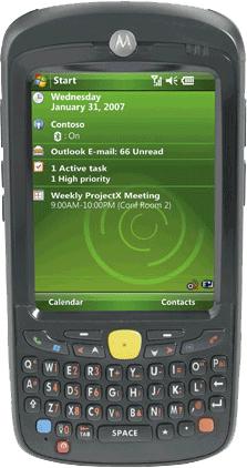Терминал сбора данных Motorola MC55A0-P40SWQQA9WR