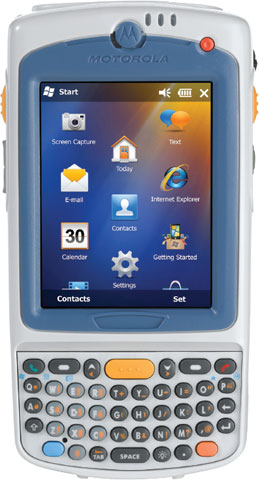 Терминал сбора данных Motorola MC75A0-H10SWQQA0GR