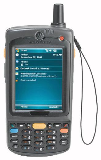 Терминал сбора данных Motorola MC75A0-PU0SWRQA9WR