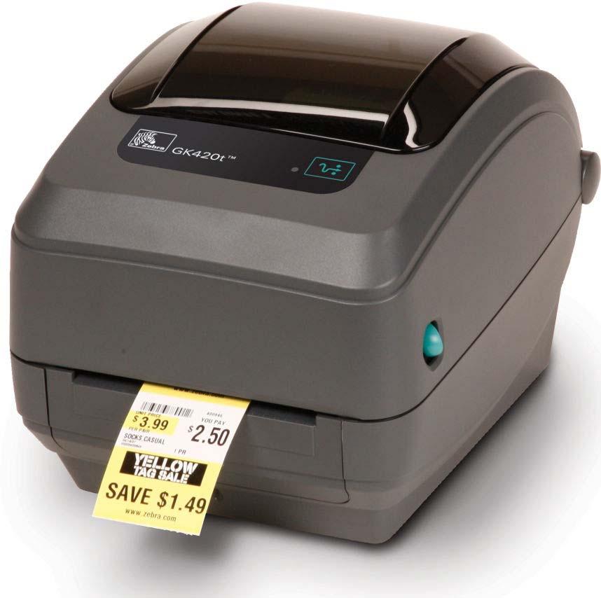 Термотрансферный принтер Zebra GK420t GK42-102220-000