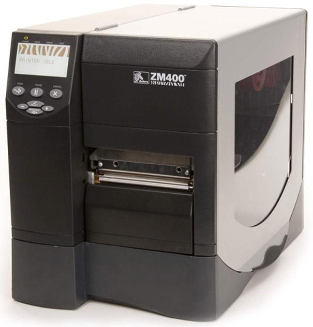 Термотрансферный принтер Zebra ZM400 300E 5000T