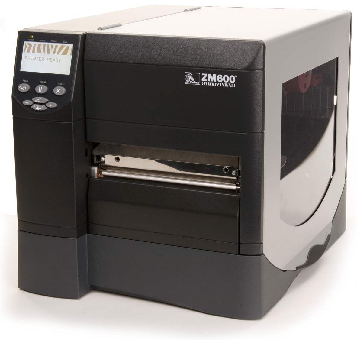 Термотрансферный принтер Zebra ZM600-200E-5000T